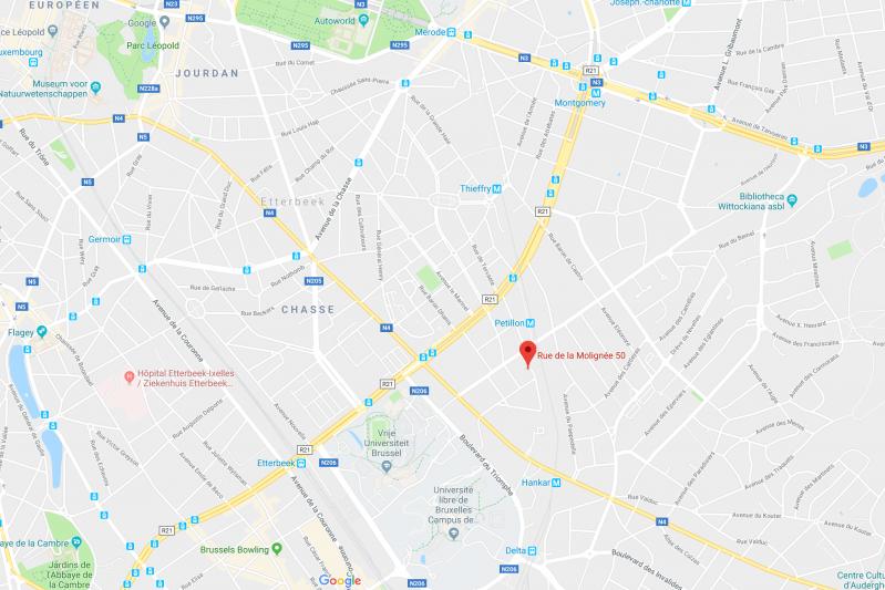 Google Maps Marie de Moerloose