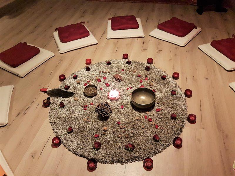 décoration Tente rouge Marie de Moerloose