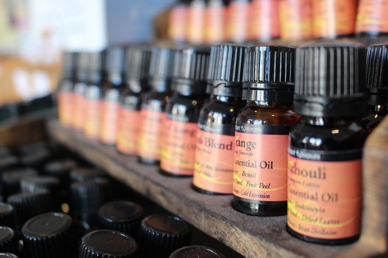 flacons d'aromathérapie Marie de Moerloose